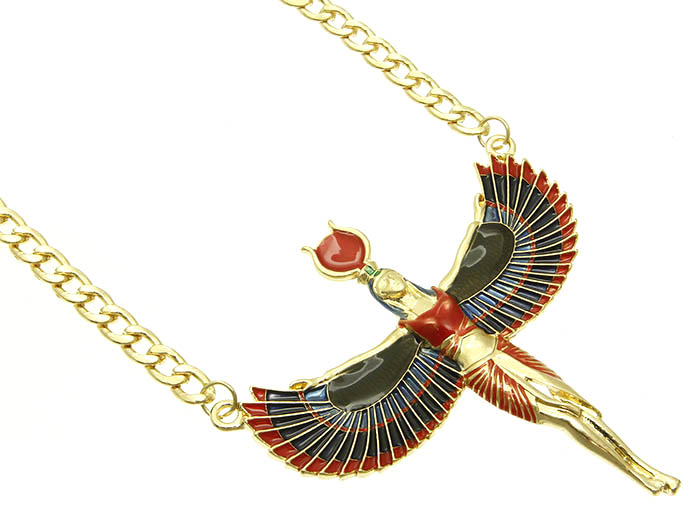 Antique Egyptian Goddess Necklace Wholesale Fashion