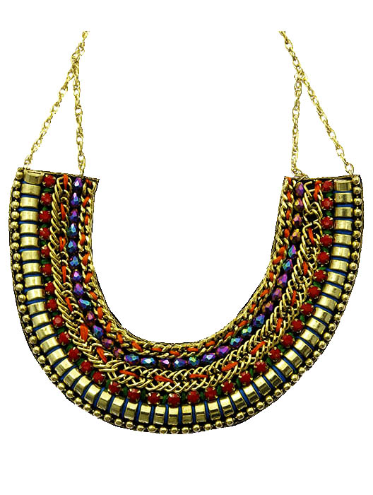 Egyptian Inspired Necklace Wholesale Fashion Jewelry 193579